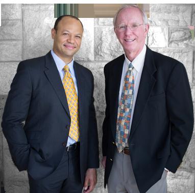 photo of Dr. Wesley Schooler & Dr. David Buchanan
