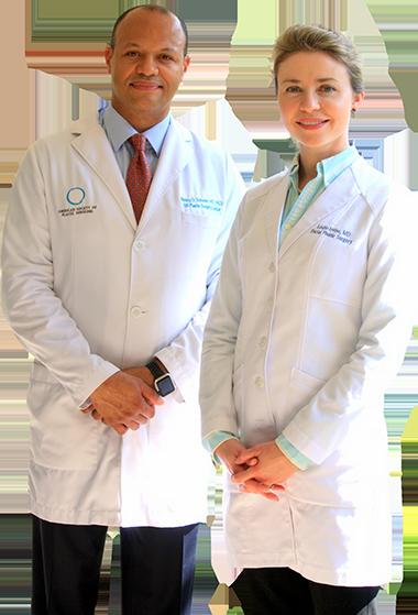 photo of Dr. Wesley Schooler & Dr. Leslie Irvine