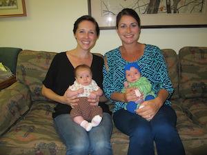 Lauren & Britt and Babies